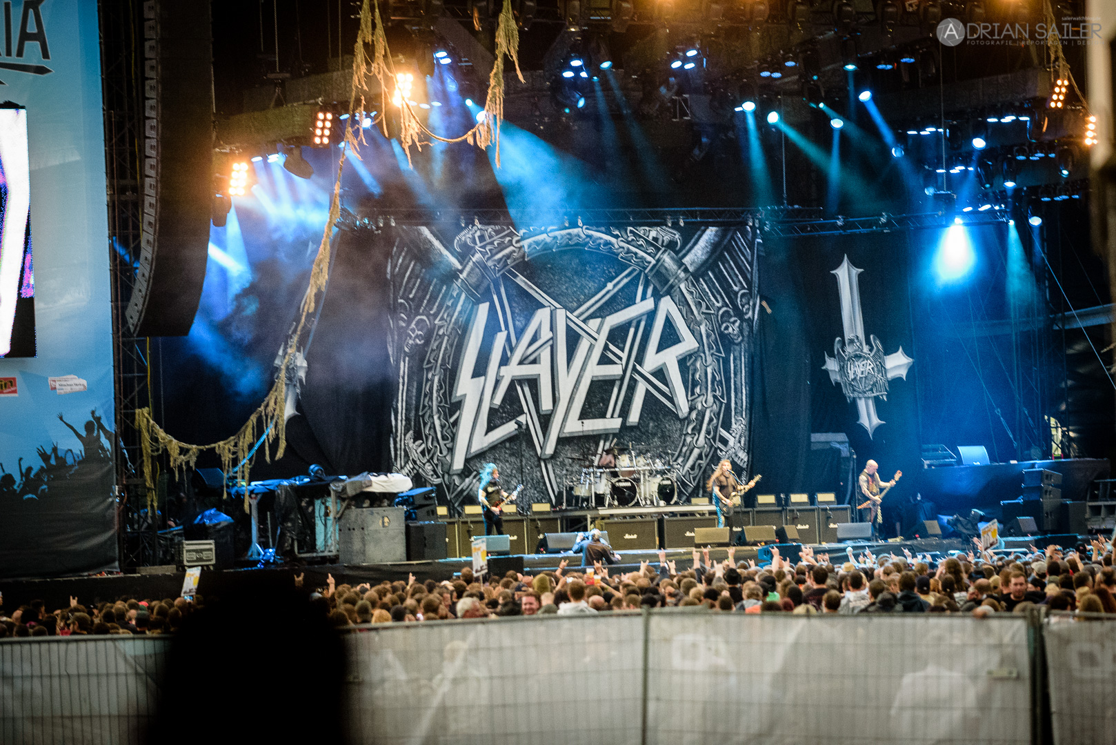 Slayer – Rockavaria 2016