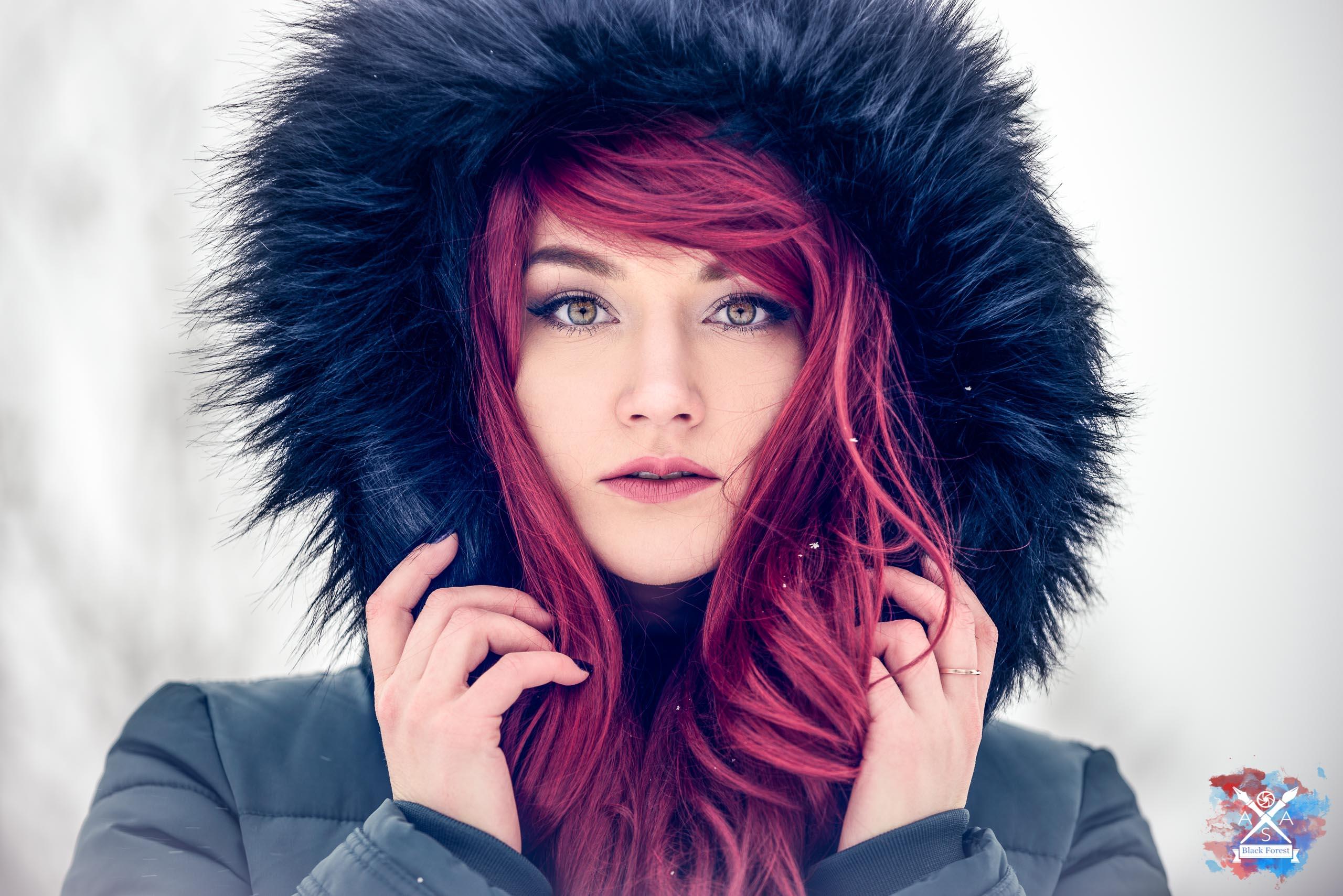 Schnee Shooting: Elvira Frei